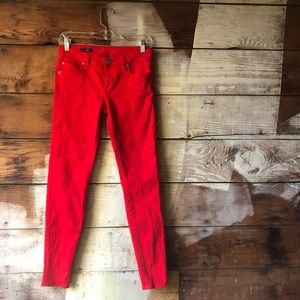 Kut from the Kloth Red Size Zero Toothpick Jeans